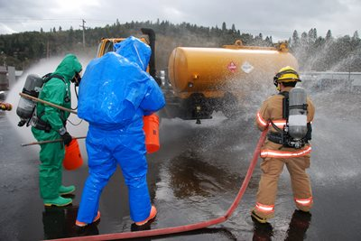 Chemical incident management training course